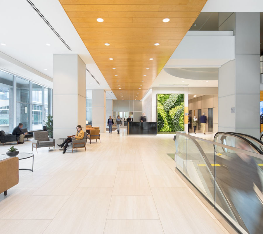BB&T Two Hannover Square Lobby
