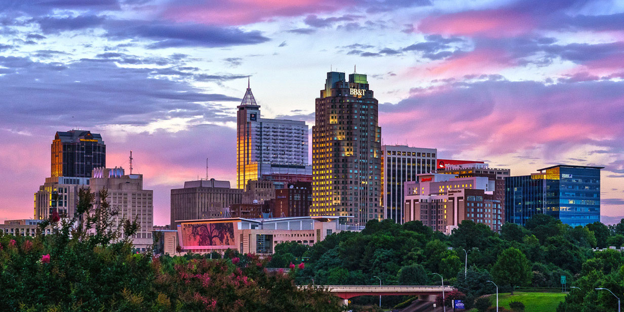 image of downtown raleigh