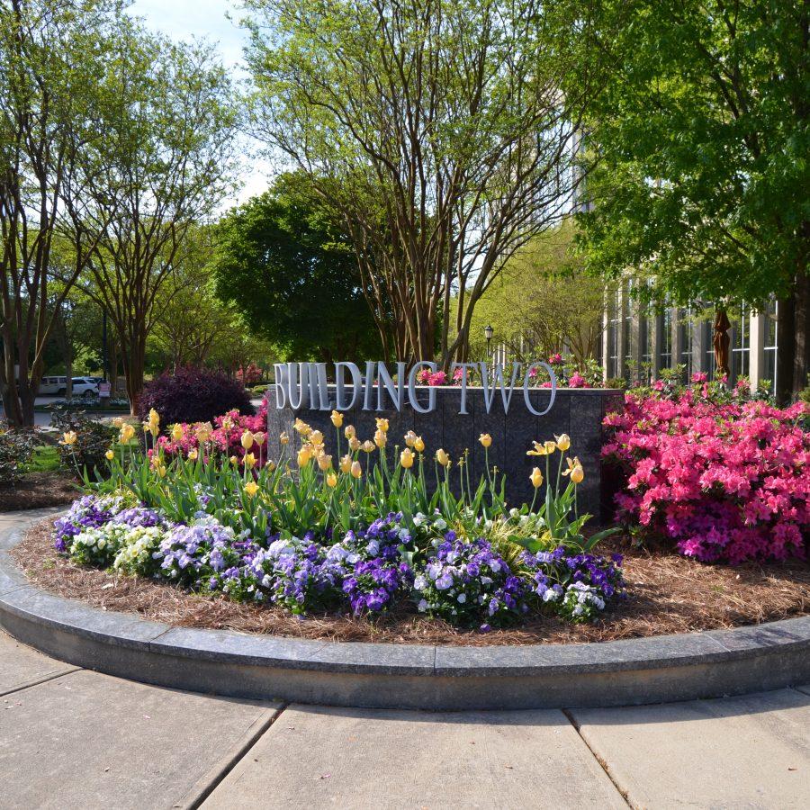office monument garden